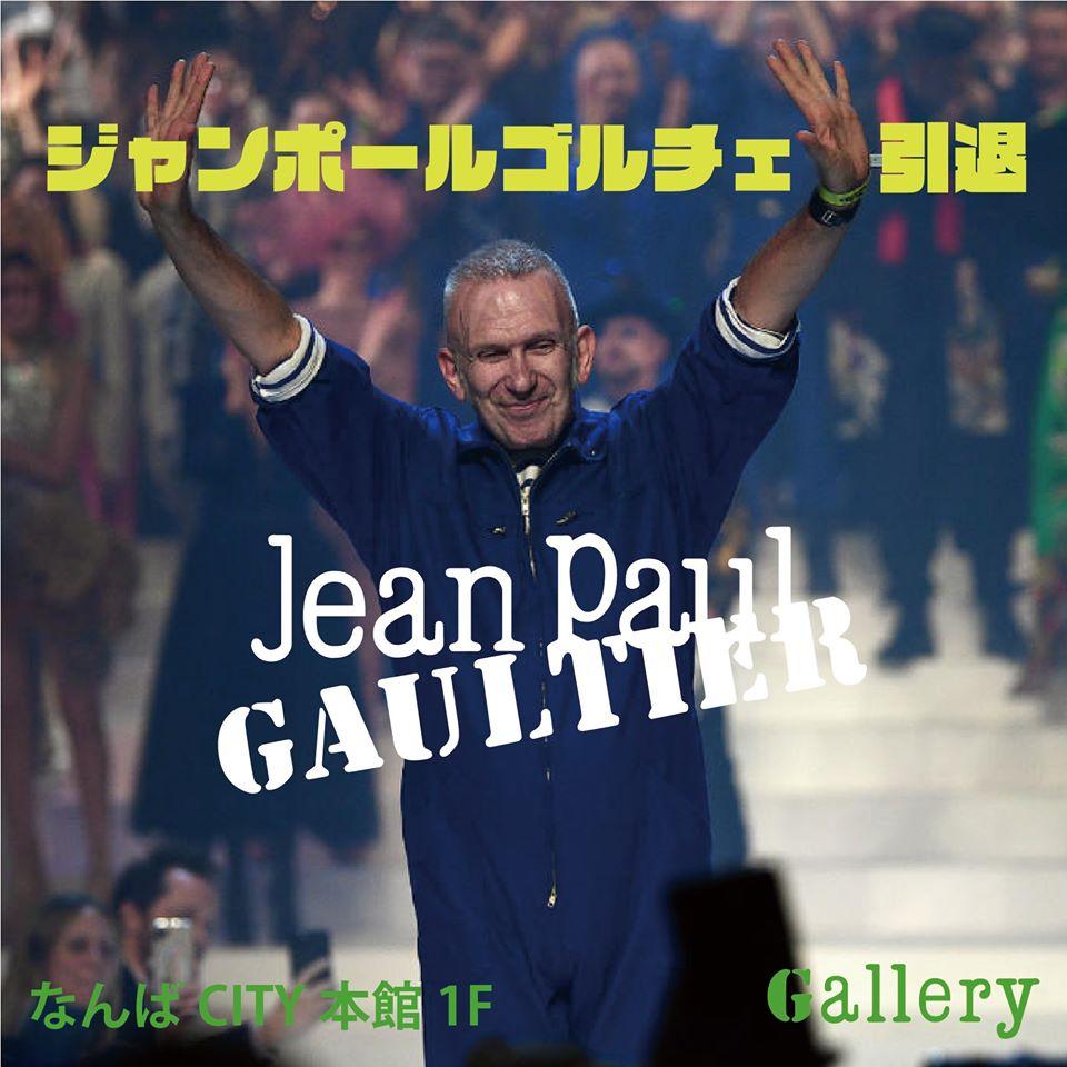 JeanpaulGAULTIER,ジャンポールゴルチェ,なんばセレクトショップ,大阪セレクトショップ