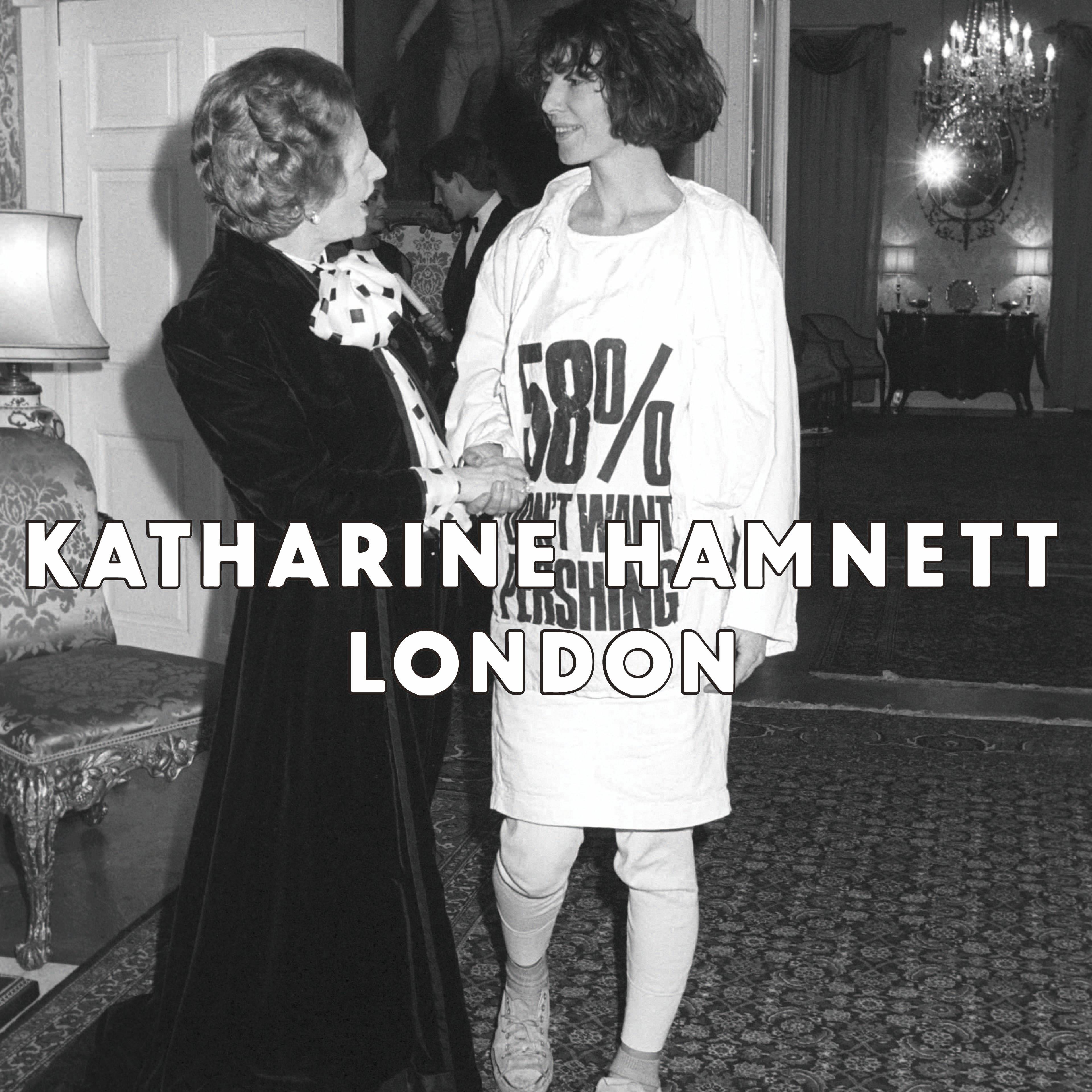 KATHARINE HAMNETT,キャサリンハムネット,なんばセレクトショップ,大阪セレクトショップ